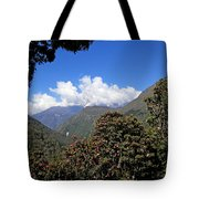 Beyond The Rhododendrons Tote Bag