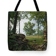 Beyond The Rock Fence Tote Bag