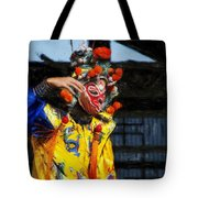 Bian Jiang Dancer Acanthus Tote Bag