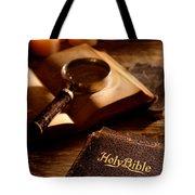 Bible Study Tote Bag