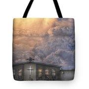 Biblical Sunset Tote Bag