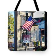 Biblion Used Books Reflections 2 - Lewes Delaware Tote Bag