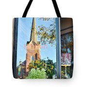 Biblion Used Books Reflections 3 - Lewes Delaware Tote Bag