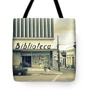 Biblioteca Cubana Tote Bag
