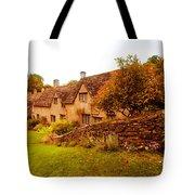 Bibury Almhouses Tote Bag