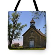 Bichet School In Marion County In Kansas Tote Bag