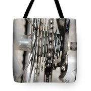 Bicycle Cassette Tote Bag