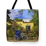 Bicycle In Santa Fe Tote Bag