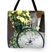 Bicycle Plant Holder Tote Bag