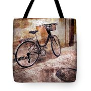 Bicycle Revisited Tote Bag