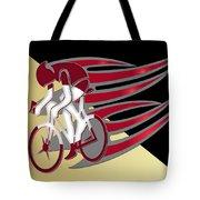Bicycle Rider 01 Tote Bag