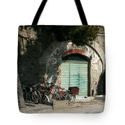 Bicycle Stop Tote Bag