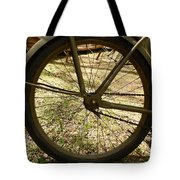 Bicycle Tire Tote Bag