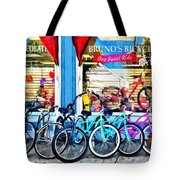 Bicycles And Chocolate Tote Bag