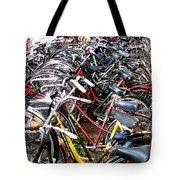 Bicycles In Amsterdam Tote Bag