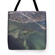 Bidr's Eye View Of Beautiful Miami Beachfront Tote Bag