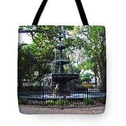 Bienville Fountain Mobile Alabama Tote Bag