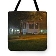 Bienville Square Grandstand In A Foggy Mist Tote Bag