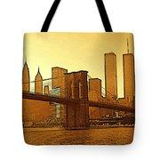 New York City - Big Apple Sunrise Tote Bag
