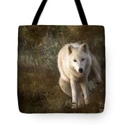 Big Bad Wolf Sprinkling The Grass Tote Bag