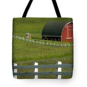 Big Barn Little Companion  Tote Bag