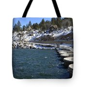 Big Bear Dam - California Tote Bag
