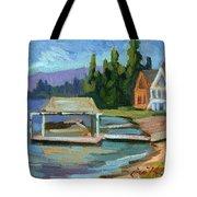 Big Bear Lake South Shore 2 Tote Bag