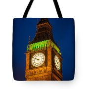 Big Ben At Night Tote Bag