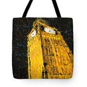 Big Ben At Night Tote Bag