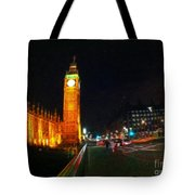 Big Ben - London Tote Bag