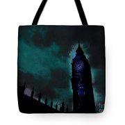 Big Ben Glowing Tote Bag