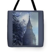 A Surreal Vision Of Big Ben, London Tote Bag