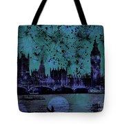 Big Ben On The River Thames Tote Bag