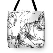 Big Billy And His Friend Tote Bag