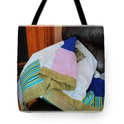 Big Blocks Patchwork Quilt Tote Bag