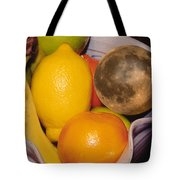 Big Bowl Of Fruit Tote Bag