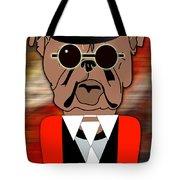 Big Bull Dog Tote Bag