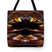 Big City Night Life Tote Bag