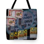 Big Daddy's Drive Inn Auburn Wa Tote Bag
