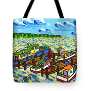Big Dock - Cedar Key Tote Bag