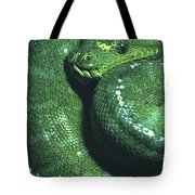 Big Green Eating Machine Tote Bag