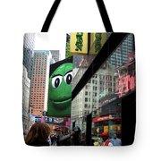 Big Green M And M Tote Bag