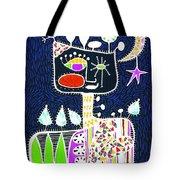 Big Hearted Blue Tote Bag