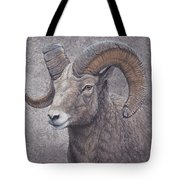 Big Horn Ram Tote Bag
