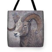 Big Horn Ram Tote Bag