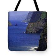 Big Island Cliffs  Tote Bag