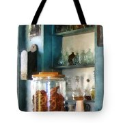 Big Jar Of Pretzels Tote Bag