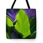 Big Leaves Tote Bag