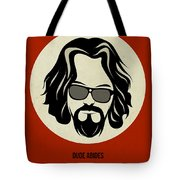 Big Lebowski Poster Tote Bag by Naxart Studio