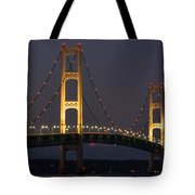 Big Mackinac Bridge 55 Tote Bag